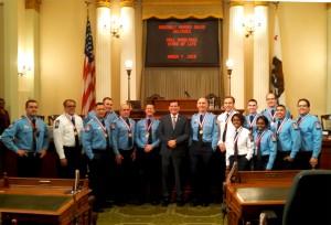 Assemblyman Rudy Salas and Hall Stars